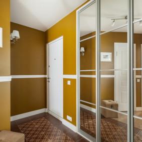murs de couloir types de conception