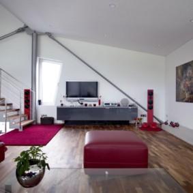 décoration photo de salon de haute technologie