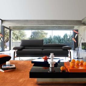 décoration photo de salon high-tech