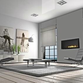 options de photo de salon de haute technologie