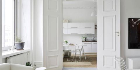 portes lumineuses dans les idées de design d'appartement