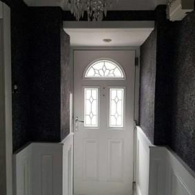 papier peint liquide dans les types de conception de couloir