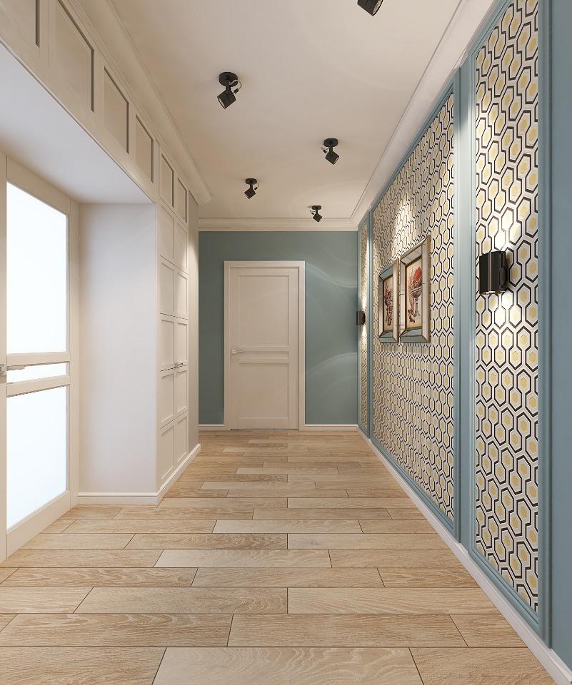 couloir dans l'appartement