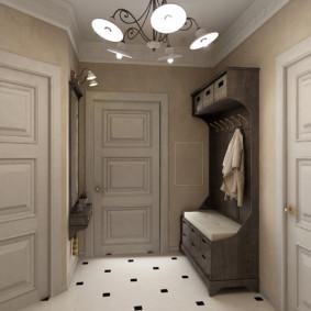 conception de sol dans les idées de photo de couloir