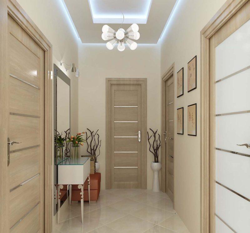 conception de plancher de couloir