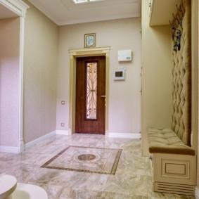 conception d'idée de conception de plancher de couloir