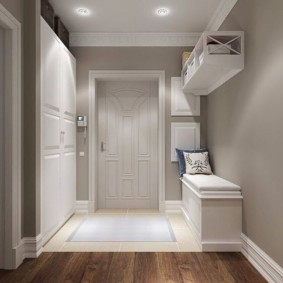 options de conception de plancher de couloir