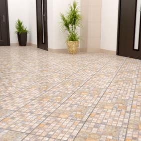 idées de conception de plancher de couloir