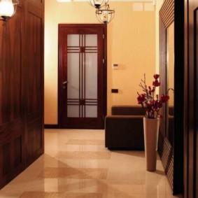 couloir étage design intérieur
