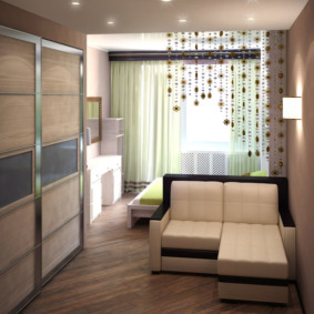 salon chambre design 16 m² options