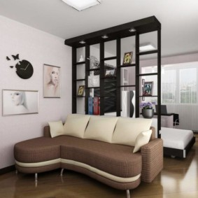 salon chambre design 16 m² photo design