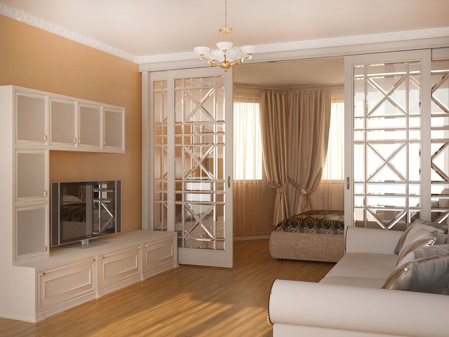 salon chambre design 16 m2