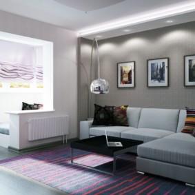 Décor de peintures modulaires du mur au-dessus du canapé