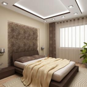 Plafond duplex dans la chambre