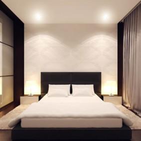 Chambre de style minimaliste