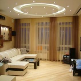 Conception de salle dans un style moderne