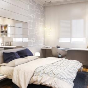 Design de chambre aux couleurs vives