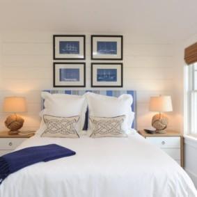 Petite chambre en blanc