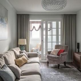 Surface habitable dans un petit appartement