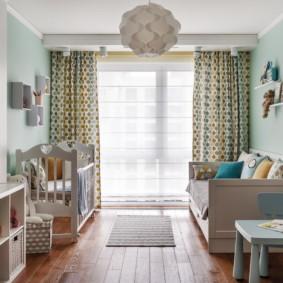 Intérieur de la chambre pour un petit enfant.