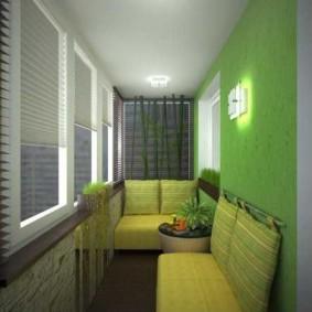 Mur végétalisé sur un balcon résidentiel