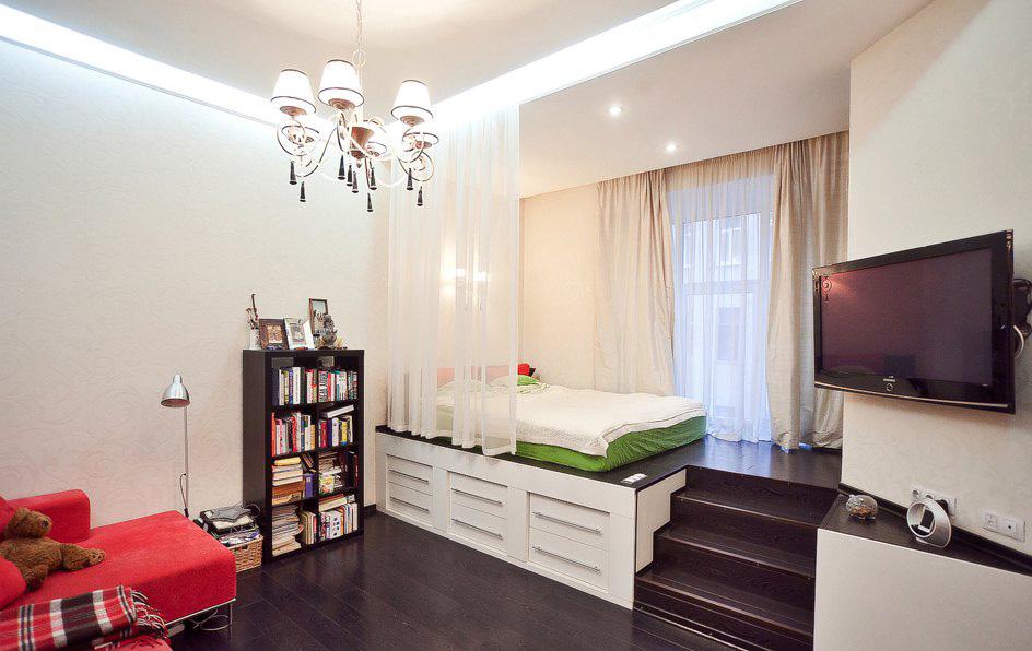 Idée salon chambre 20 m²