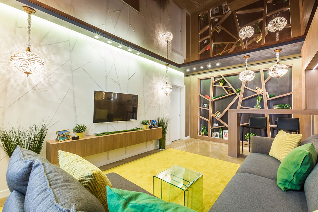 salon chambre 20 m² décor photo