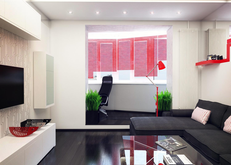 20 m² salon chambre décor photo