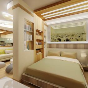 salon chambre 20 m² photo intérieur