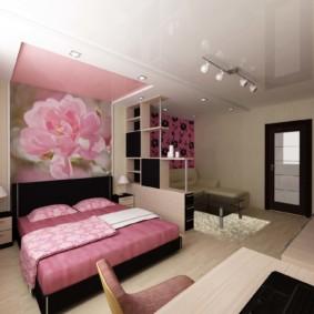 20 m² salon chambre à coucher idées de vue