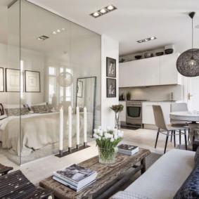 Options de chambre salon 20 m²