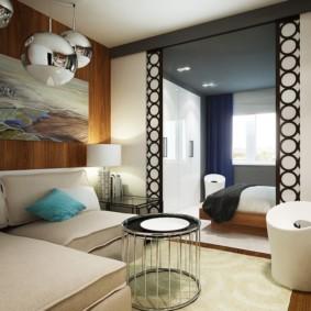 Options de photo de la chambre du salon de 20 m²