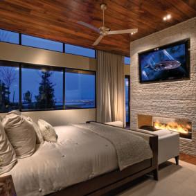 20 m² salon chambre à coucher types de photos
