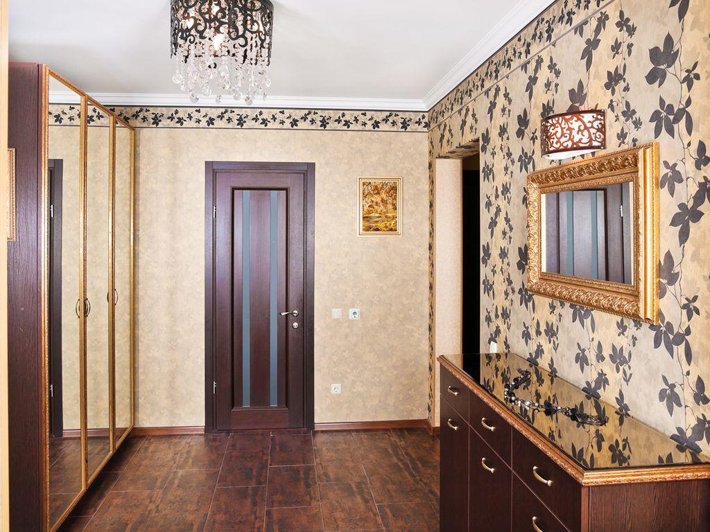 combinaison de papier peint pour le couloir