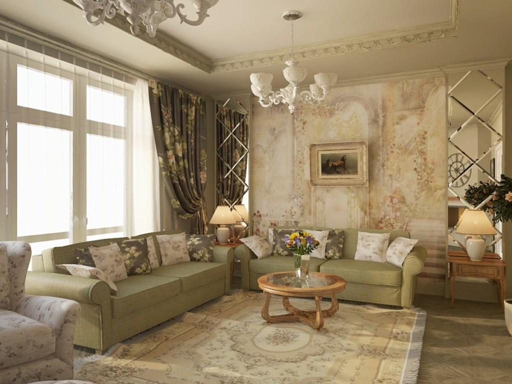 Appartement moquette de style provençal