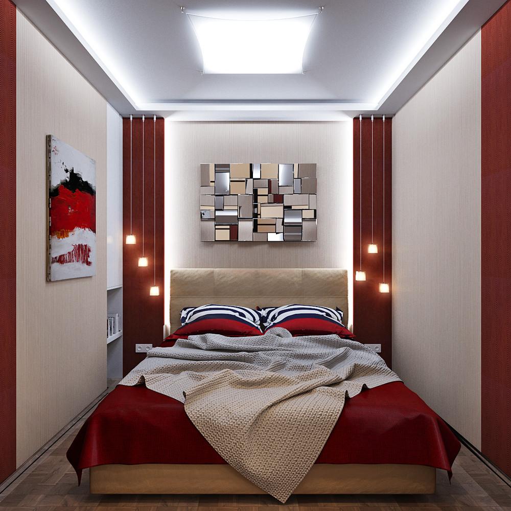 Lumière vive dans une chambre sans fenêtres
