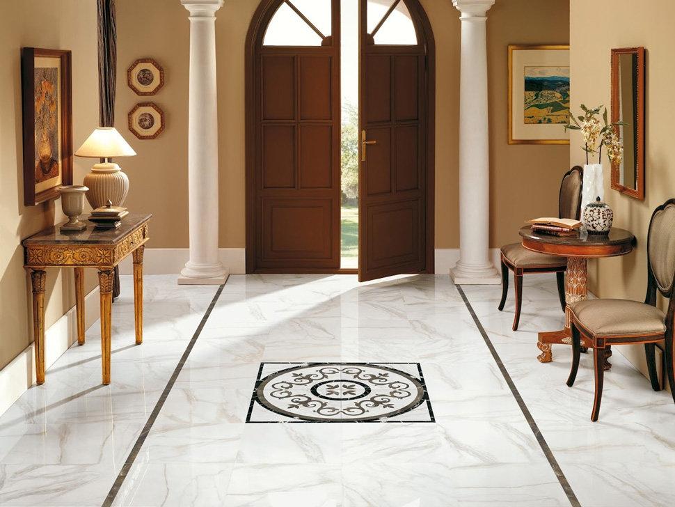 carreaux de sol de couloir