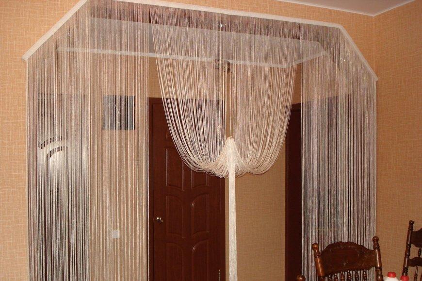 rideaux dans la conception de photo de cuisine