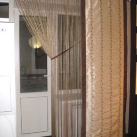 rideaux de cuisine idées intérieures