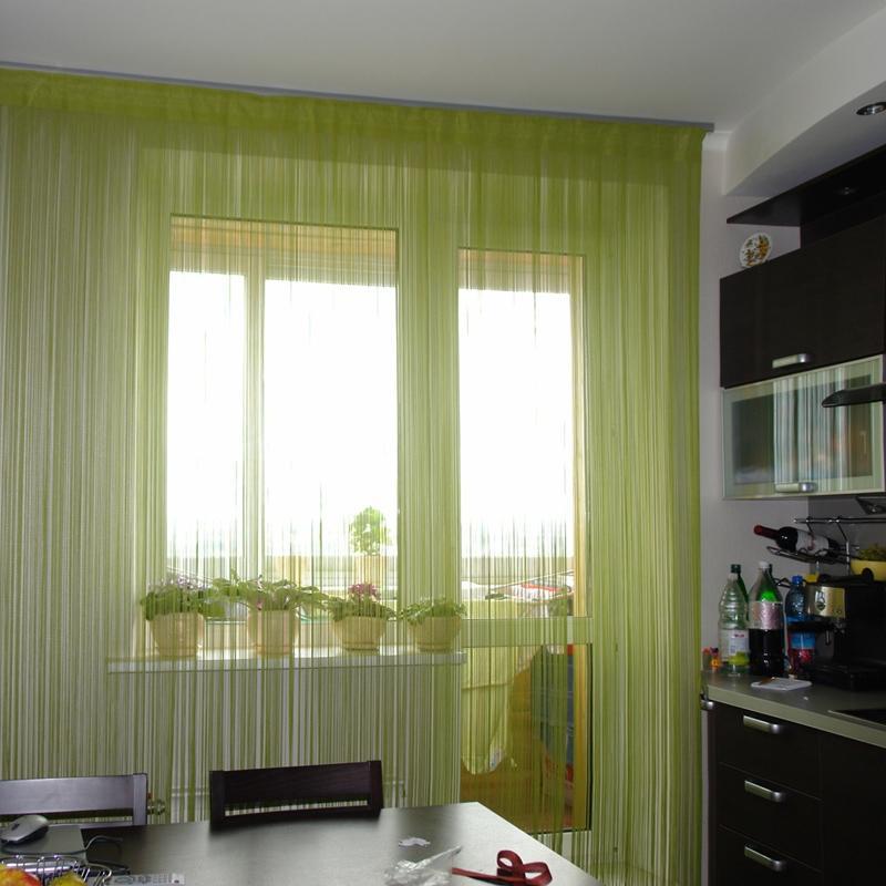 rideaux dans les idées d'intérieur de cuisine