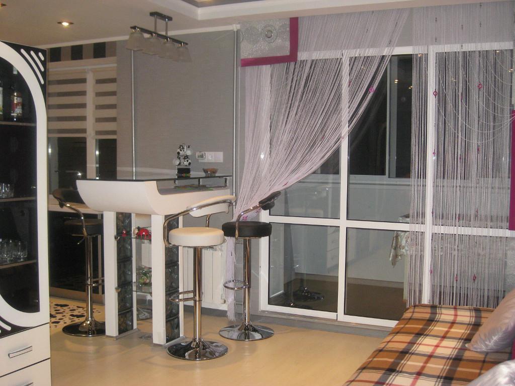 rideaux dans les idées de décoration de cuisine