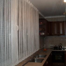 rideaux de cuisine photo options