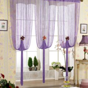 rideaux de cuisine idées de décoration