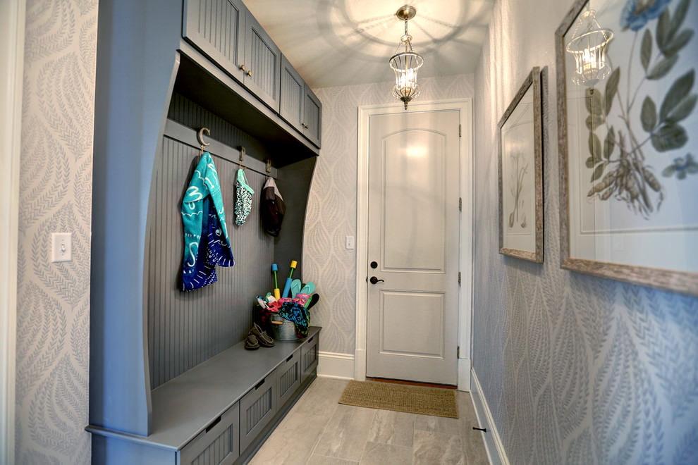 papier peint pour un petit couloir