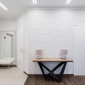 carreaux de sol dans le couloir photo