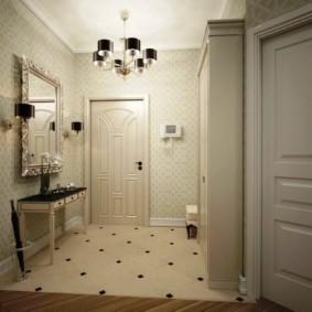 carreaux de sol à l'intérieur des idées couloir