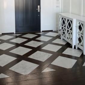 carreaux de sol dans le couloir photo décoration