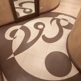 carreaux de sol dans le couloir idées de décoration