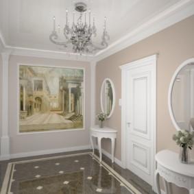 carreaux de sol dans les couloirs types de décor