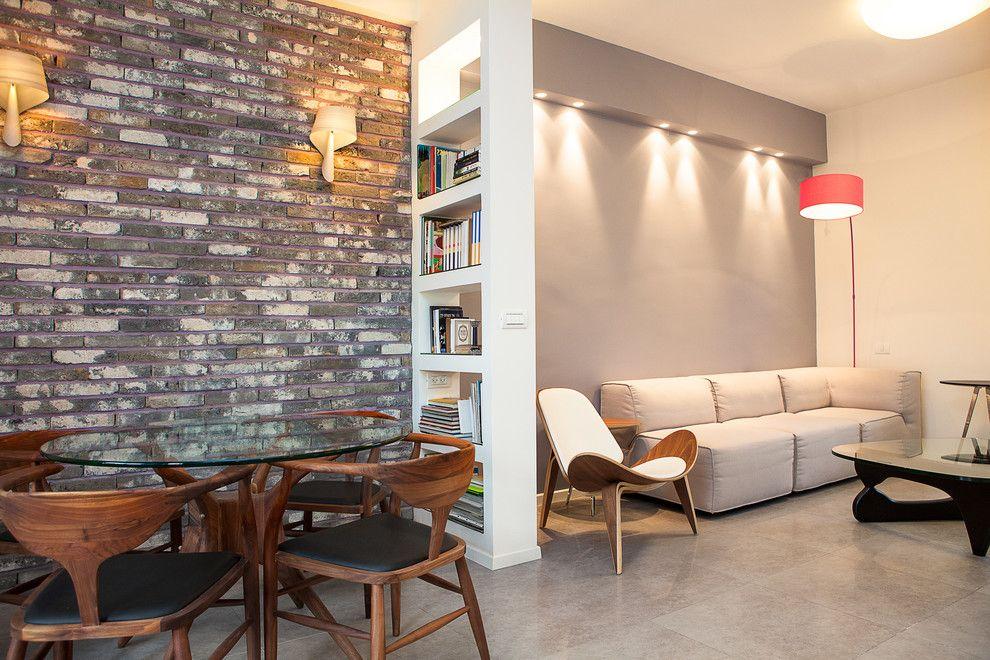 Différents murs dans un studio